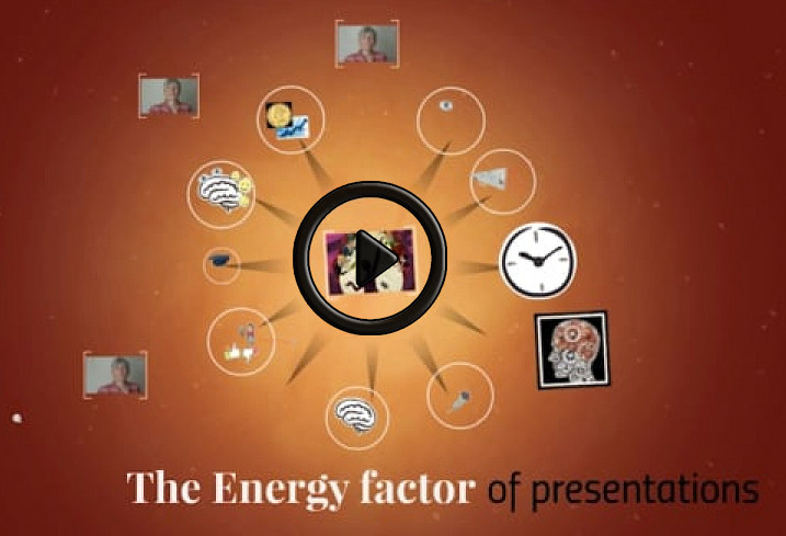 a short video about the energy factor of presentations by Anja Henningsmeyer