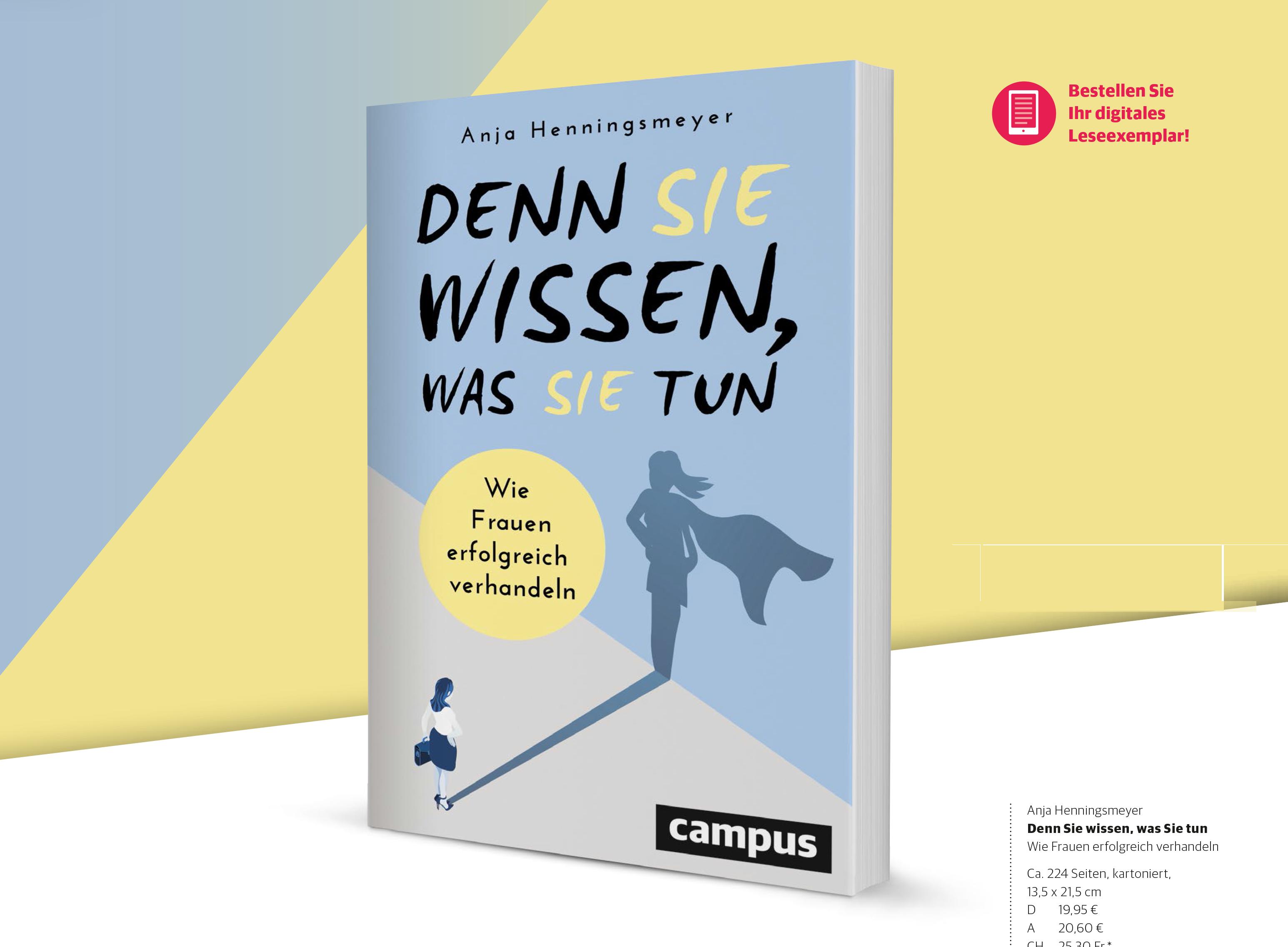 Buch Verhandlungsstrategien von Anja Henningsmeyer