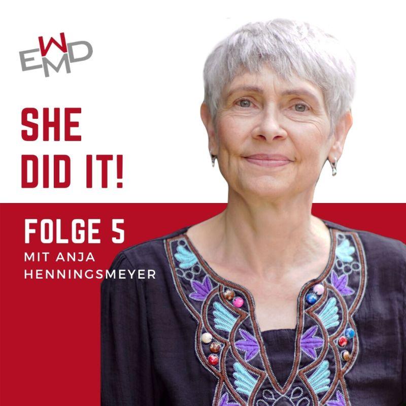 She did it – der Podcast des EWMD mit Anja Henningsmeyer